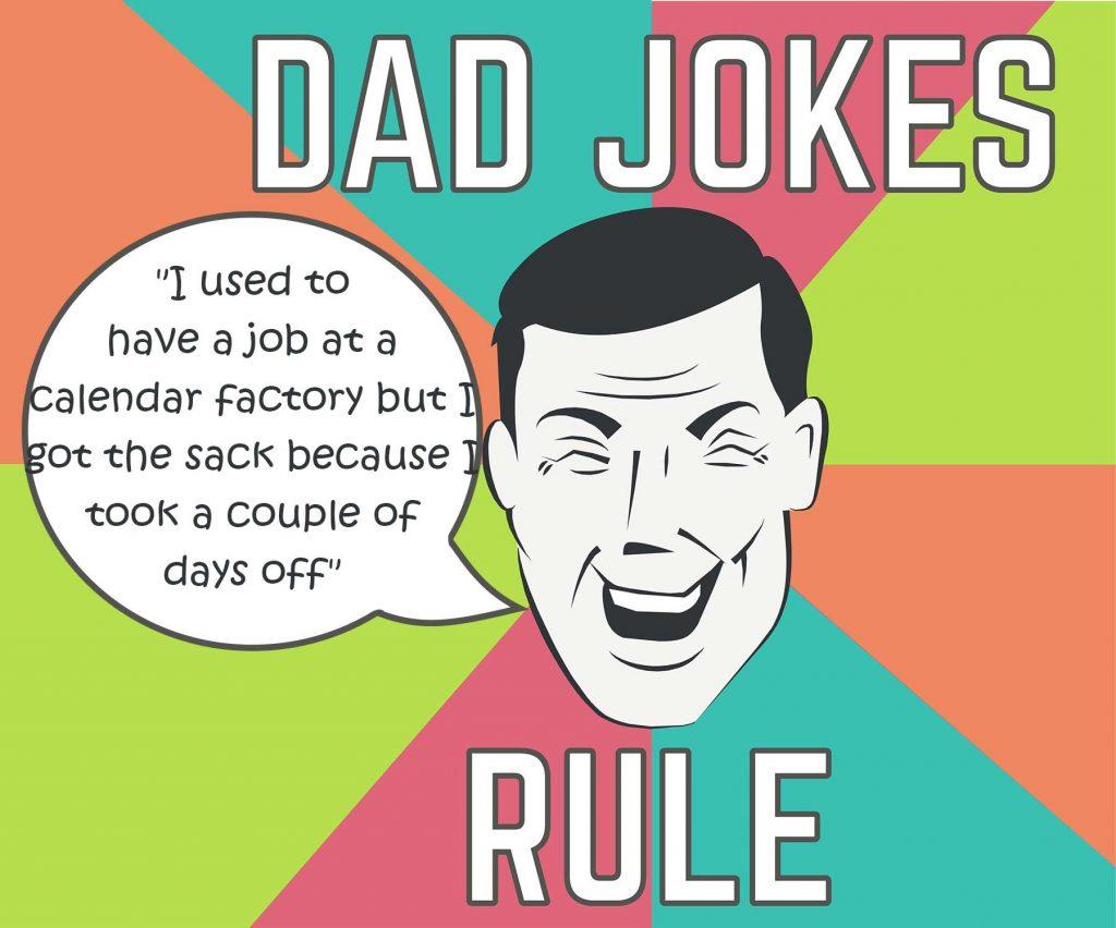 Dad joke graphic